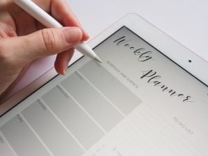 planner for productivity
