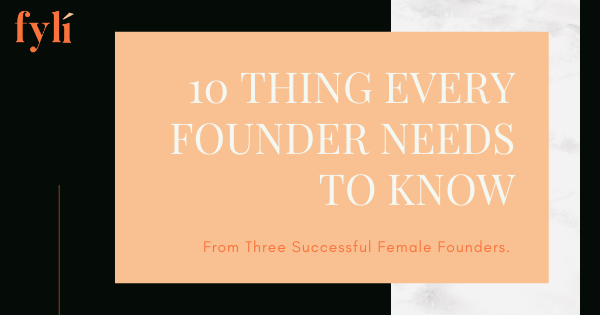 10 Things Every Founder Needs to Know